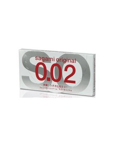 Sagami Original 0.02 - 2 pezzi