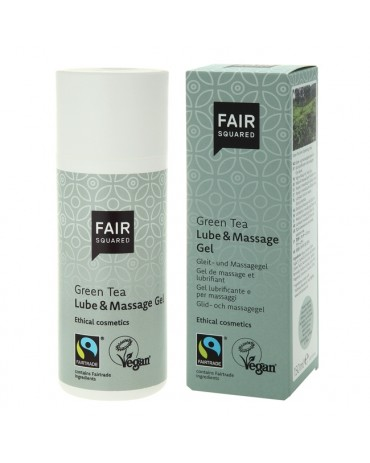 Fair Squared - Lube & Massage Gel Green Tea