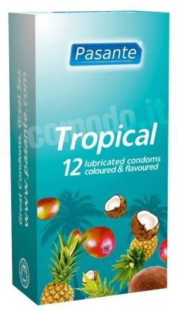 preservativi aromatizzati pasante tropical