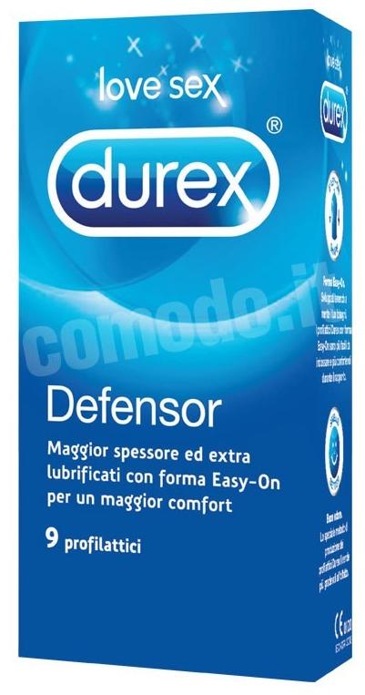 preservativi durex defensor resistenti