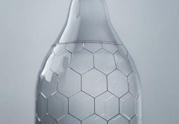 Hex: condom a trama esagonale a nido d'ape