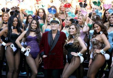 Hugh hefner fondatore di playboy