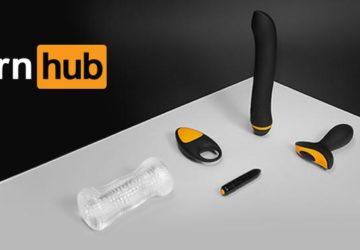 Sex toys della linea Pornhub