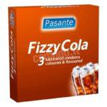 Preservativi aromatizzati alla coca cola pasante