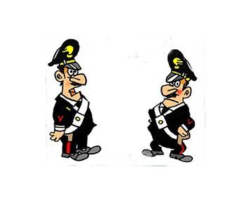 Confidenze tra carabinieri