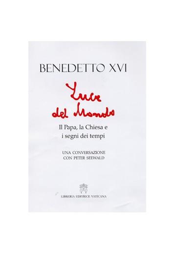 Boom di vendite per il libro del Papa